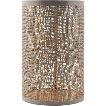 Kovový svícen Hessian 20cm