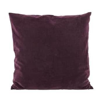 Sametový povlak na polštář Aubergine 50x50