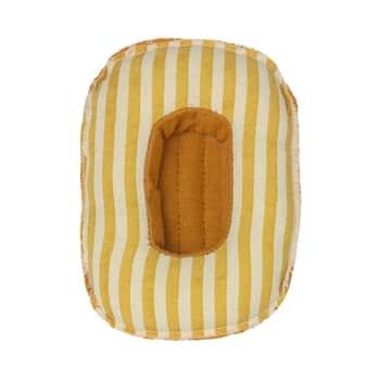 Raft pro zvířátka Maileg Yellow Stripe