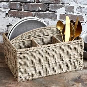 Ratanový košík do kuchyne Nature