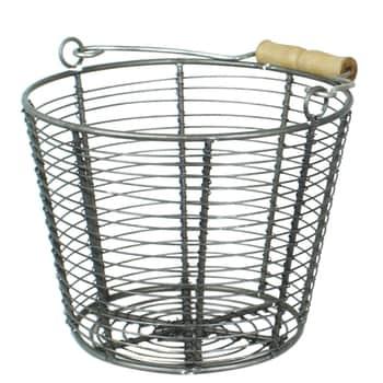 Drátěný košík Coned Zink Small