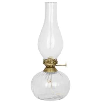 Skleněná petrolejová lampa Elisabeth Round Small