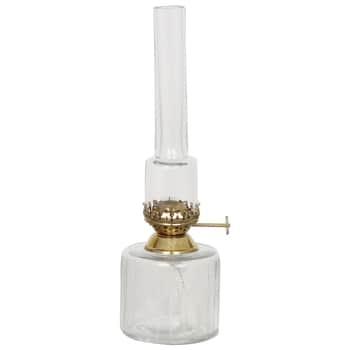 Skleněná petrolejová lampa Straight Small
