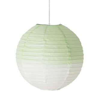 Závěsná papírová lampa Verde 35cm