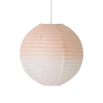 Závěsná papírová lampa Rose 35cm