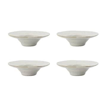 Keramický stojanček na vajce Pion Grey/ White - set 4 ks