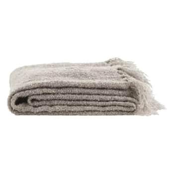 Přehoz Wool Grey 130x170