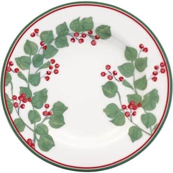 Porcelánový dezertní talíř Scarlett White 15 cm