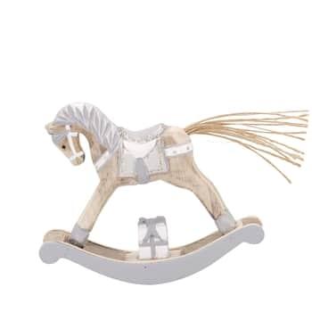 Dřevěný houpací koník Silver Small