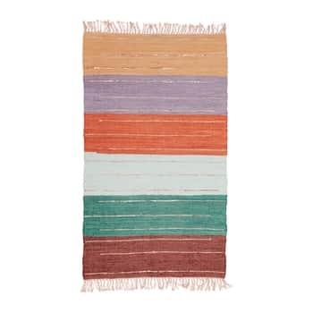 Bavlněný koberec Multi Stripe 150×90 cm
