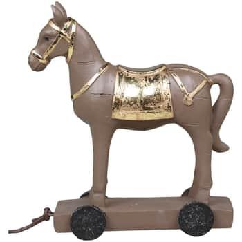 Dekorativní koník Horse on Wheels