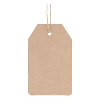 Papírový štítek Simply 9x5,5cm