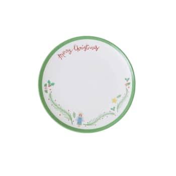 Melaminový vánoční talířek Xmas Angel