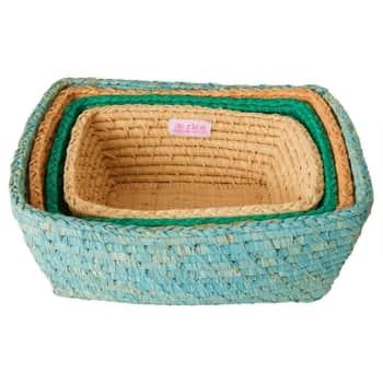 Košík na chlieb Raffia Rectangular