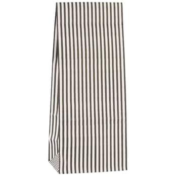 Papírový sáček Black Stripes - S