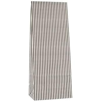 Papírový sáček Black Stripes - M
