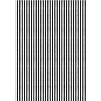 Balicí papír Black Stripes White 10m