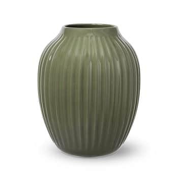 Keramická váza Hammershøi Dark Green 25,5 cm