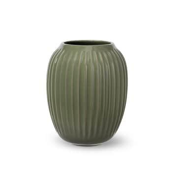Keramická váza Hammershøi Dark Green 21 cm