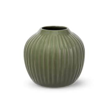 Keramická váza Hammershøi Dark Green 13 cm