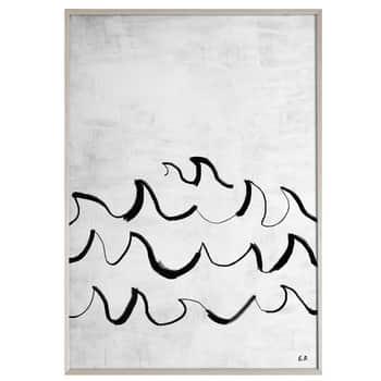 Autorský plakát Wave 50x70 cm