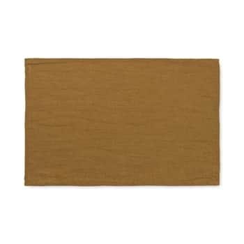 Látkové prostírání Linen Cinnamon - set 2 ks