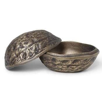 Dekorativní úložný box Forest Nut Antique Brass