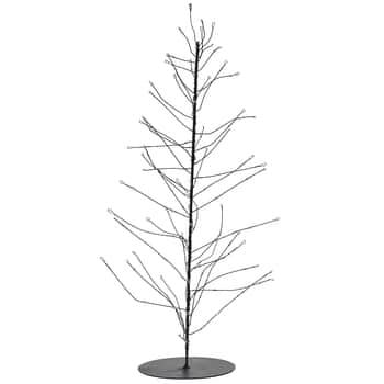 Vánoční LED stromeček Glow Black 45 cm