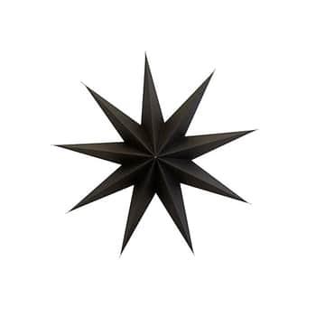 Vánoční papírová hvězda 9 Point Brown