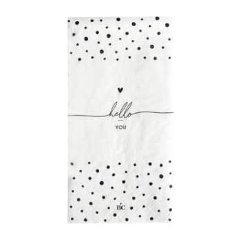 Papierové servítky Hello You Dots - 16 ks