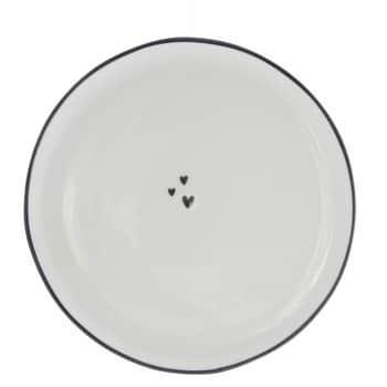 Keramický tanier Three Little Hearts 19 cm