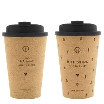 Šálka na kávu so sebou Tea Time / Hot Drink 300ml
