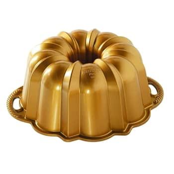 Hliníková forma na bábovku Anniversary Pan Gold 3,5l