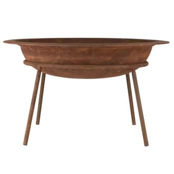 Kovové zahradní ohniště Rust