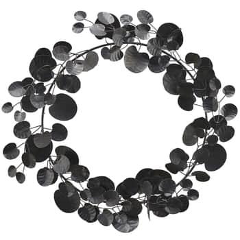 Dekoratívny veniec Wreath Eucalyptus Black