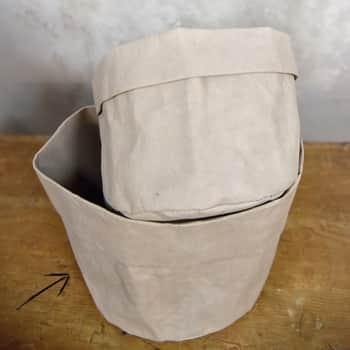 Obal na květináč Recycled Paper Ø18 cm