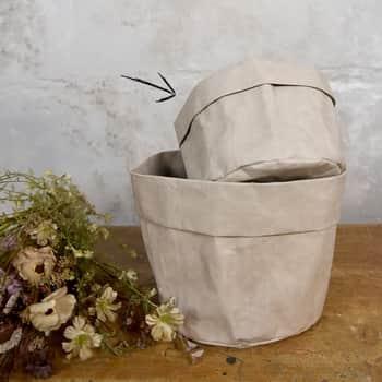 Obal na květináč Recycled Paper Ø14 cm
