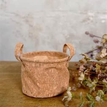 Korkový obal na květináč Ø14 cm