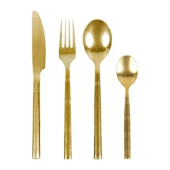 Sada příborů Dore Vintage Gold - set 4 ks