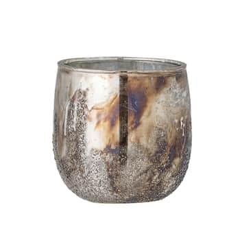 Svícen na čajovou svíčku Milagro Votive Silver