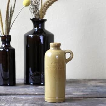 Keramická vázička Old French Bottle Amber