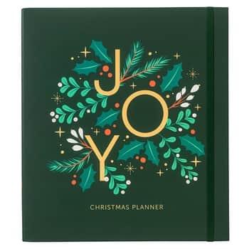 Vánoční plánovač Christmas Planner Green