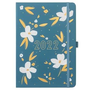 Týdenní plánovací diář To Do Teal 2022