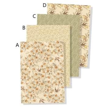 Dárkový balicí papír Flowers 50×70 cm