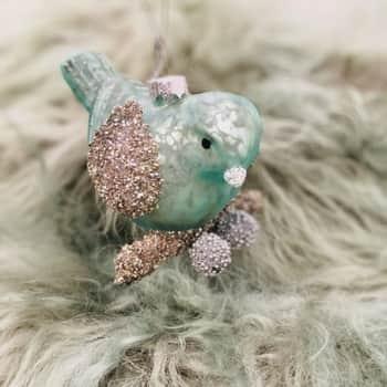 Vánoční ozdoba Bird Mint