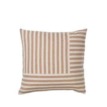 Bavlněný povlak na polštář Frankie Golden Brown 50×50 cm