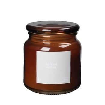 Vonná sviečka Spiced Amber 395g