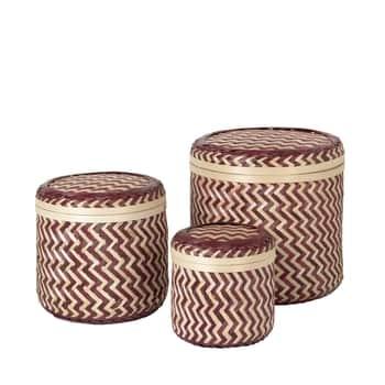 Bambusový úložný kôš Kasia