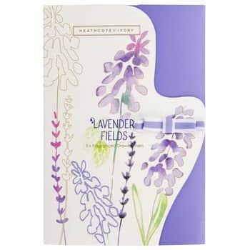 Vonné listy do skříně Lavender Fields - 5 archů