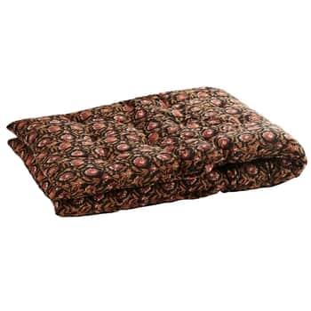 Bavlněná matrace Black/Indian Tan 70x180cm